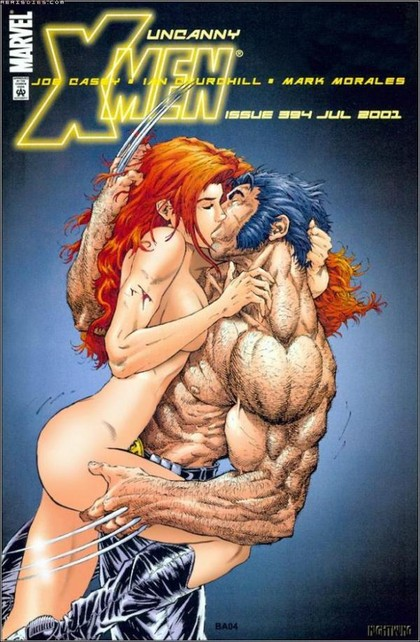 X-Men heroes simply cannot quit with a new strip of this naughty drawn sex ...